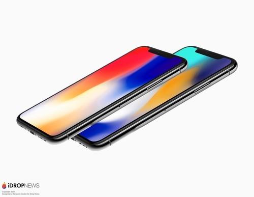 "iphone x plus 的屏幕顶部同样采用了""刘海""设计,可以容纳 true"