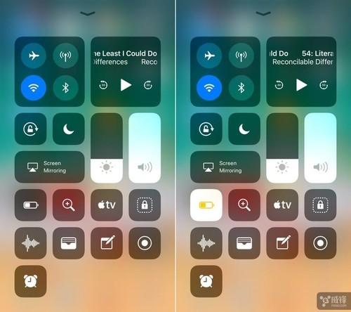 ios11快捷图标-带你认识iOS 11全新控制中心这些特性