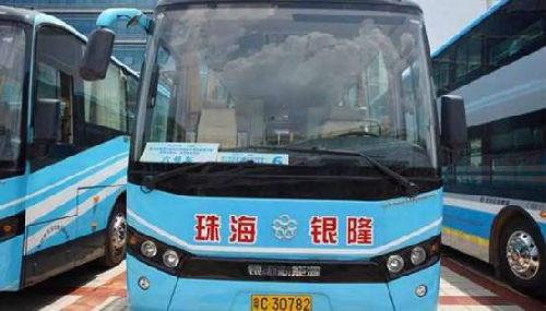 珠海银隆的纯电动客车已进入全国数十个城市