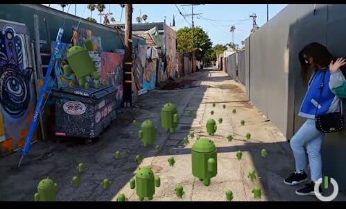 谷歌的野心:让1亿部Android手机具有AR功能
