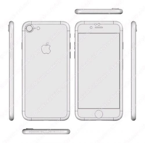 供应商爆料iphone 7手机设计图
