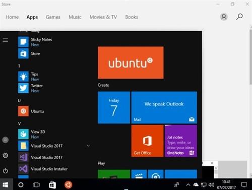 Windows 10大爱Ubuntu!