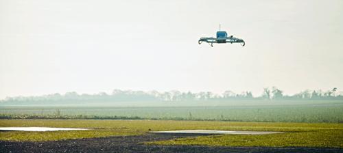 用无人机送快递:亚马逊不只是想搞个噱头