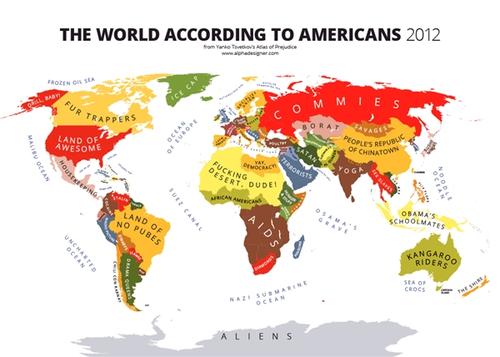 """""""世界偏见地图""""走红:中国竟是个大超市"""