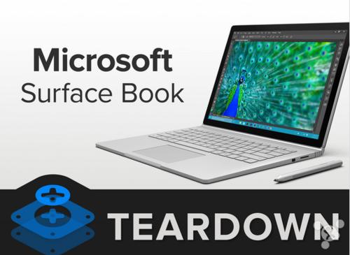 Surface Book详细拆解:千万不要自己动手修