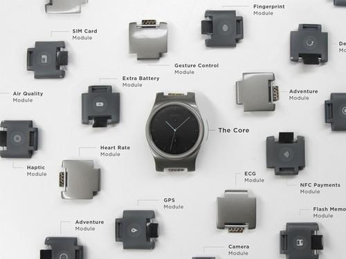模块化手表 可以自行安装摄像头