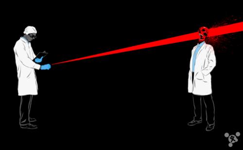 需要多少激光笔才能成功杀死一个人?