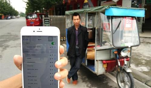 """成都最牛""""蹦蹦"""":配iPad有免费Wi-Fi"""