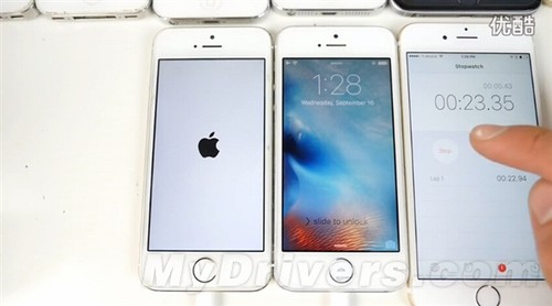 视频:iOS 9下iPhone 4S/5/5S/6/6 Plus速度对比