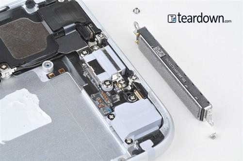 苹果5带内部结构图