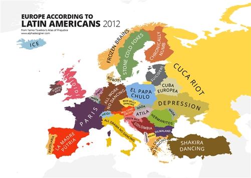 """""""世界偏见地图""""走红:中国竟是个大超市-中关村在线"""
