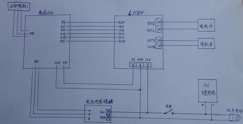 温湿度传感器连接到数字口d8,这些都是在arduino的程序代码中预定义好