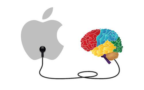 蘋果橫切面手繪圖