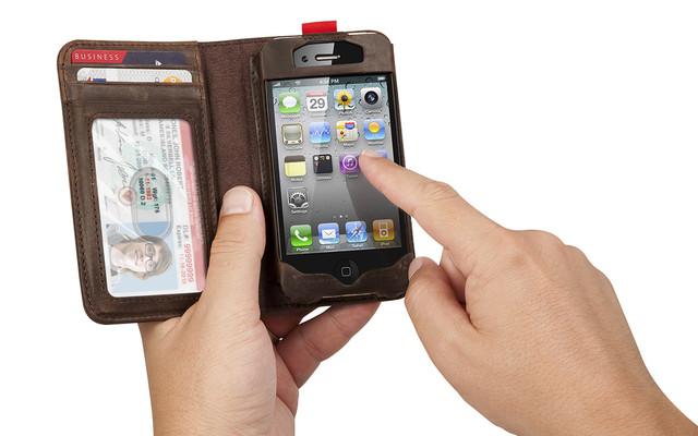 """手握iphone,你还能买到""""iphone""""牌钱包"""